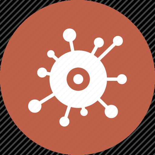 bacteria, immunity, infection, virus icon
