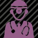 doctor, orl, otorhinolaryngologist icon