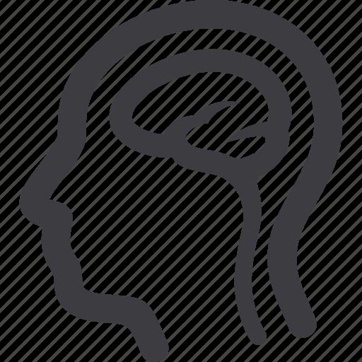 brain, head, neurology, neuroscience icon
