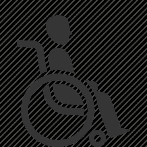 Disability, handicap, wheelchair icon - Download on Iconfinder