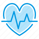 cardiogram, heart, hospital, medical icon