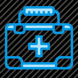 aid, hospital, kit, medical icon