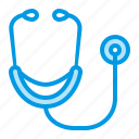 doctor, hospital, medical, stethoscope icon