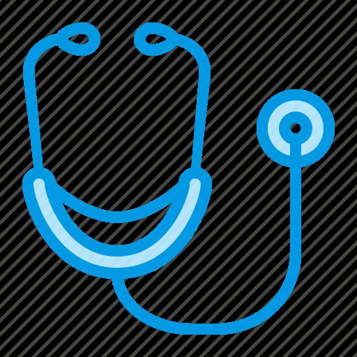 doctor, hospital, medical, stethoscope icon