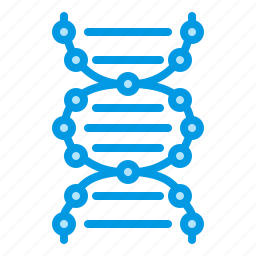 biology, dna, medical, research, test icon