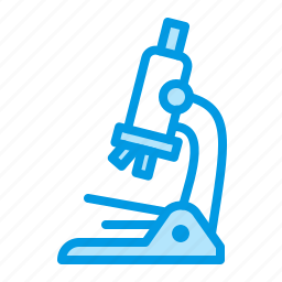 biology, equipment, glass, medical, microscope icon