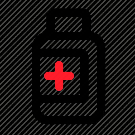 health, liquid, medical, medicine, syrup icon
