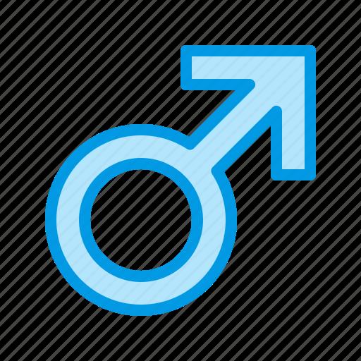 gender, health, male, men, urology icon