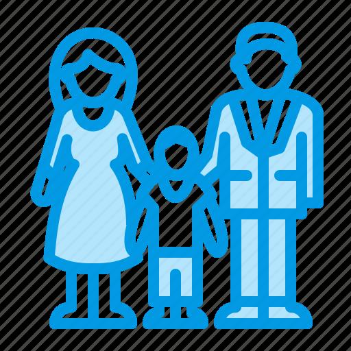 doctor, family, pediatric, urology icon