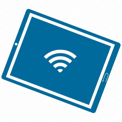 device, mobile, tablet, wifi icon