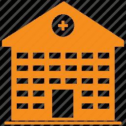 building, health, hospital, medical icon