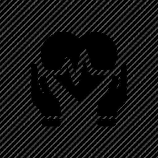 healthcare, heart care, heart disease, heart health icon icon