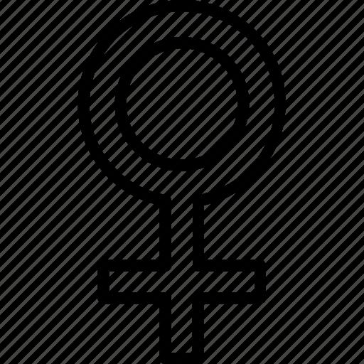 female, sign, woman icon icon