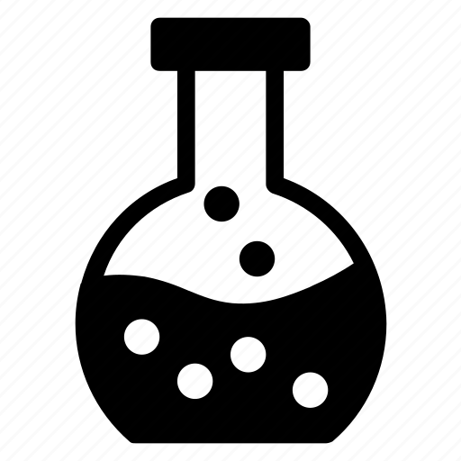 chemical, chemistry, conical, equipment, flask, physics, research icon