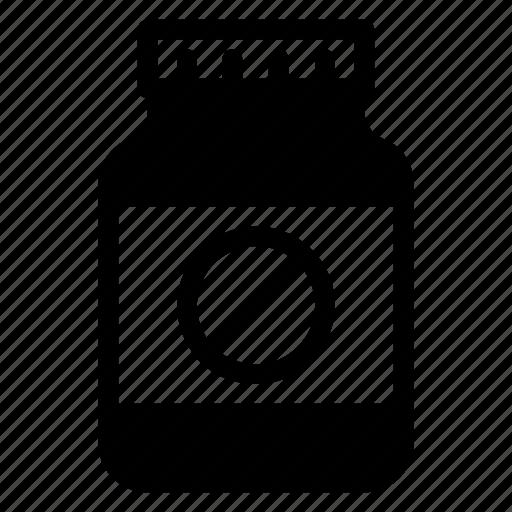Jar, medicine, tablet, drugs, healthcare, mobile icon - Download on Iconfinder