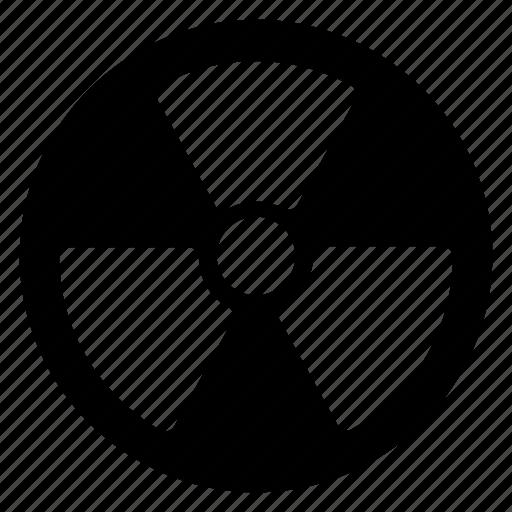 alert, atom, atomic, caution, danger icon
