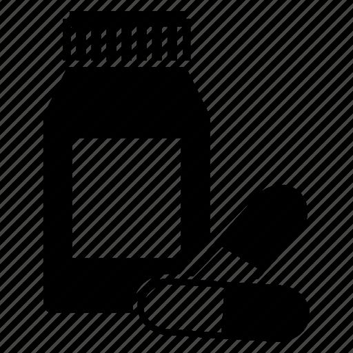 capsules, medicine, pills, tablets icon