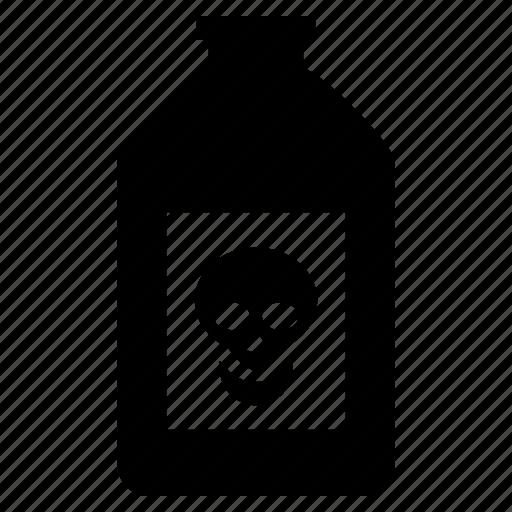 danger, poison, poisonous, skull, toxicant icon