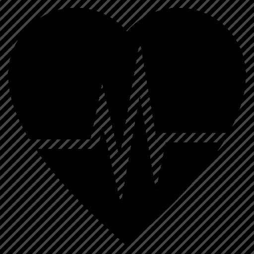 electrocardiogram, heart rate, heartbeat, lifeline, pulsation, pulse rate icon