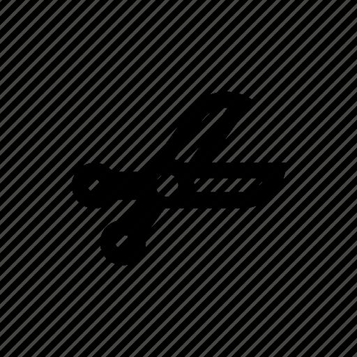 cut, metal, scissors, sharp icon icon