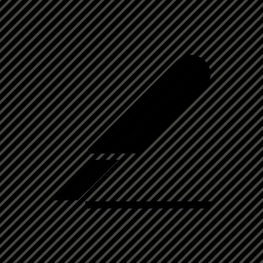 cutter, doctor, pen, prescription icon icon