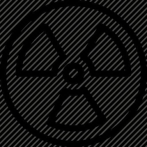 atom, atomic, danger, laboratory, labs, radioactive, rediation icon