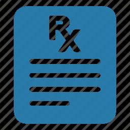 medical, medication, pharmaceutical, pharmacy, prescription icon