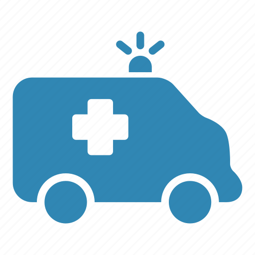 ambulance, emergency, hospital, medical, transport, vehicle icon