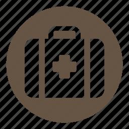 doctor, emergency kit, hospital, medical, medical kit icon