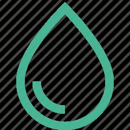 blood, drip, drop, rain, water icon