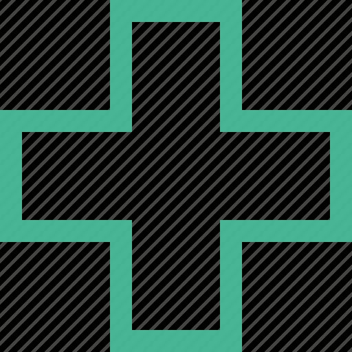 ambulance, cross, hospital, medicine icon