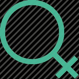 female, femine, girl, lady, woman, women icon