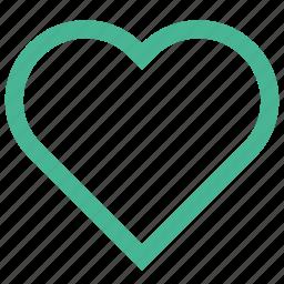 favourite, heart, life, like, live, love icon