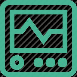 computer, device, monitor, pulse icon