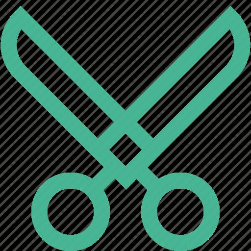 cut, cutter, cutting, scissor, scissors, tool icon