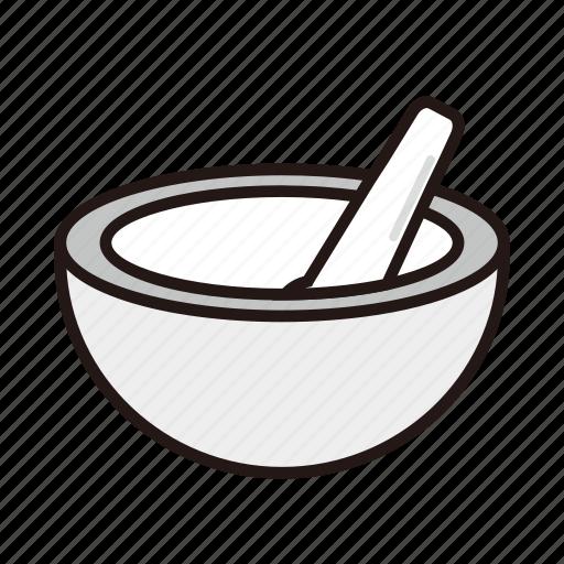 bowl, medicine, pharmacy icon