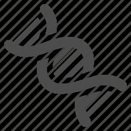 dna, genetic, genetics, genom, helix, molecule, spiral icon
