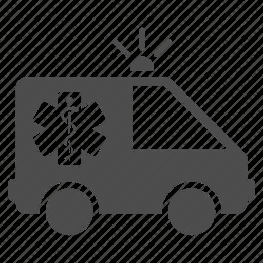 ambulance, emergency car, medical help, medicine, safety, transport, transportation icon