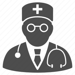 doctor, first aid man, hospital, medic, orderly, paramedic, physician icon