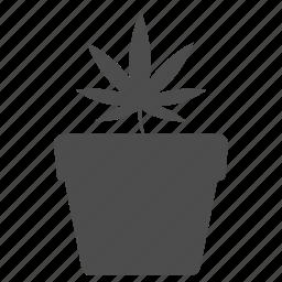 cannabis, drug, marihuana, marijuana, nature, plant, weed icon