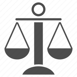 balance, compare, femida, judge court, law, scales, weight icon