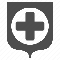 guard, healthcare, medical, medicine, protection, safety, shield icon