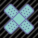 band aid, bandage, patch, plaster icon