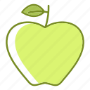 apple, food, fruit, healthcare, treatment icon