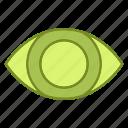 eye, healthcare, medicine, treatment, vision, watch icon