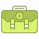 aid, emergency, first, healthcare, kit, medicine, treatment icon