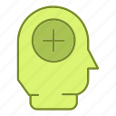 brain, healthcare, medicine, treatment, user icon