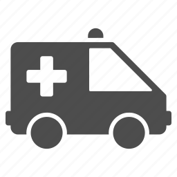 aid, ambulance, emergency car, help, support, transport, vehicle icon