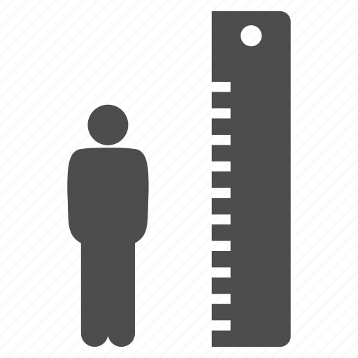 height, measure, measurement, meter, scale, tall, value icon