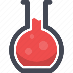 chemistry, experiment, flask, laboratory, research, science, test tube icon
